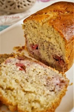 Cake aux fraises & pavot 2(7)