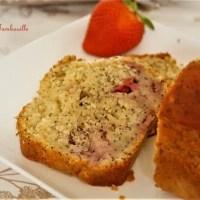 Cake aux fraises & pavot