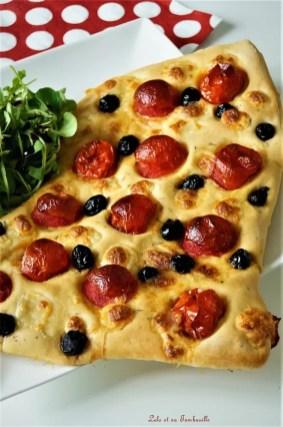 Foccacia tomates cerise & mozzarella (4)
