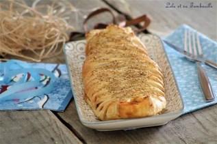 Tresse feuilletée poireaux & chorizo (4)