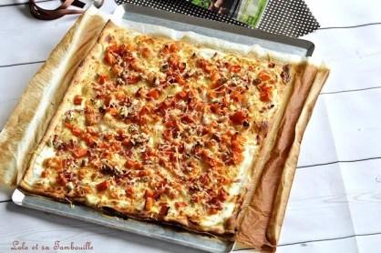 Pizza butternut & lardons (6)