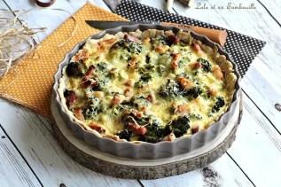 Tarte brocolis & lardons (3)