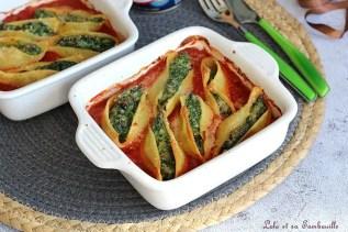 Conchiglioni aux épinards & ricotta (6)