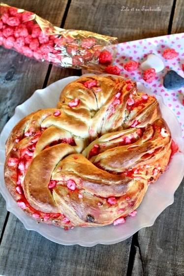 Kringle aux pralines roses (4)