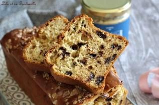 Cake au beurre de cacahuètes & pépites de chocolat (6)