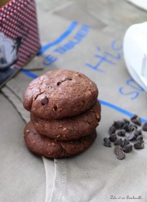 Cookies au chocolat & pépites (3)