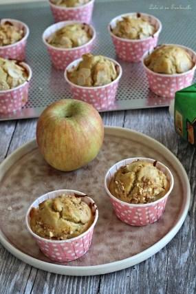 Muffins au lait de coco & pommes (6)
