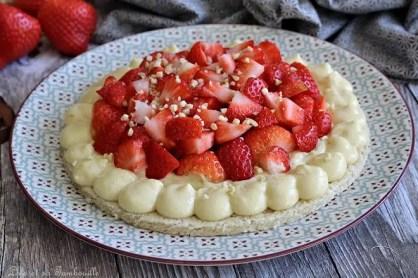 Dacquoise aux fraises (5)