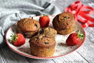 Muffins aux myrtilles {aux blancs d'oeufs} (2)