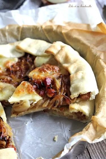 Tarte oignons & lardons (4)
