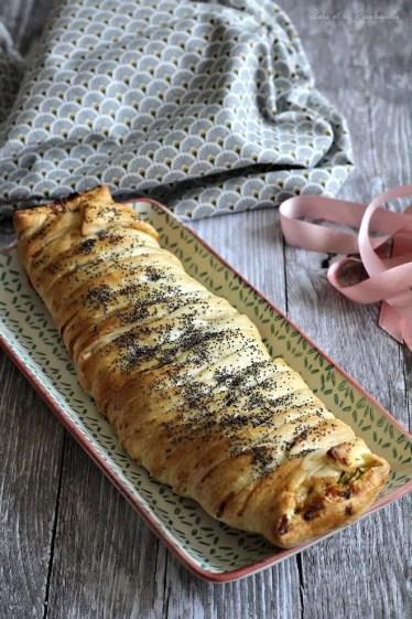 Tresse aux courgettes & chorizo (3)