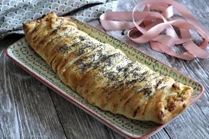 Tresse aux courgettes & chorizo (4)