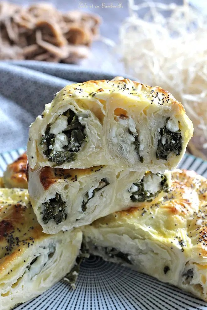 Börek aux blettes & feta