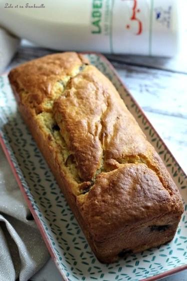 Cake au lait fermenté & myrtilles (2)