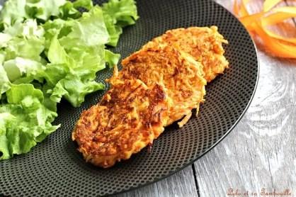Galettes de carottes & beurre de cajou {aux blanx d'oeufs} (10)