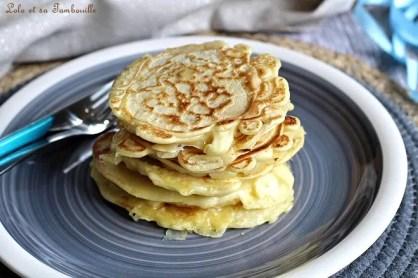 Pancakes fourrés chorizo & emmental (4)