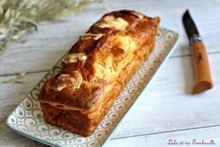 Cake au chèvre & poivrons grillés (2)