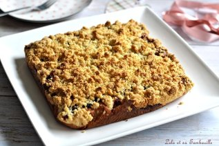 Crumb cake aux fruits rouges (2)