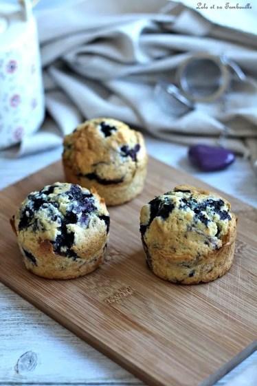 Muffins aux myrtilles (3)