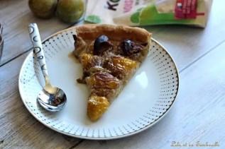 Tarte aux prunes & crème de noisettes (5)
