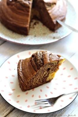 Gâteau zébré (2)
