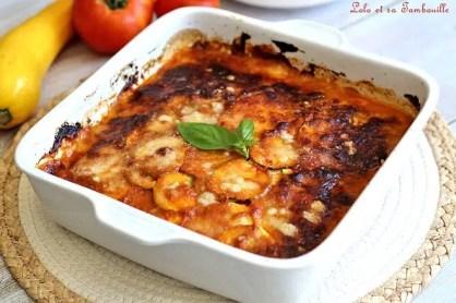 Parmigiana de courgettes & scarmorza 1(2)