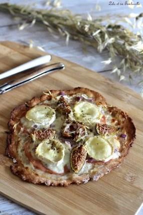 Pizza chèvre & figues (2)