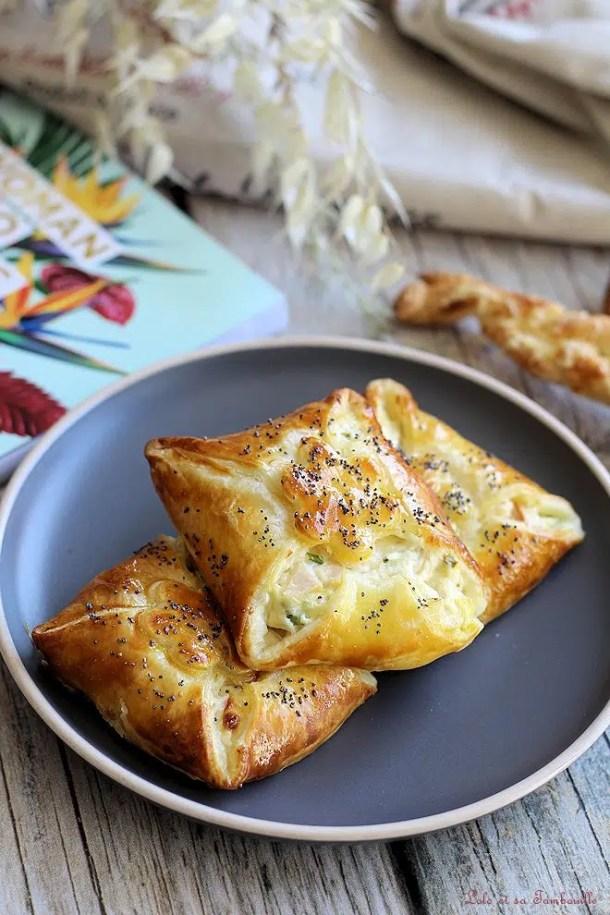 Feuilletés jambon & fromage