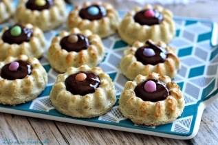 Savarins chocolat & smarties (1)