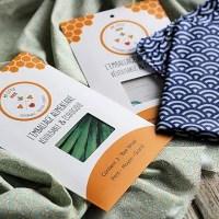My Little bee wrap : Les nouveaux emballages alimentaires & écologiques
