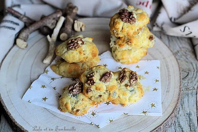 Cookies au gorgonzola