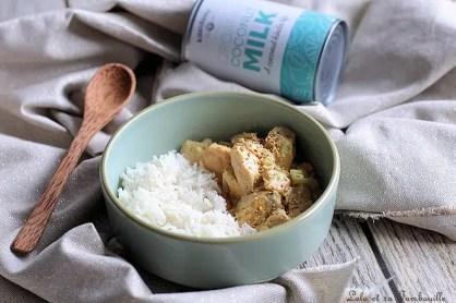 Curry de saumon au lait de coco (2)