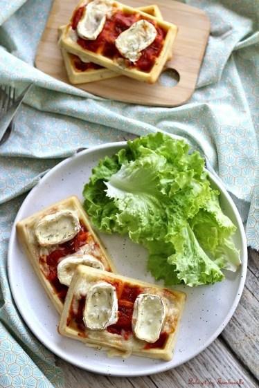 Gaufres au four façon pizza (5)