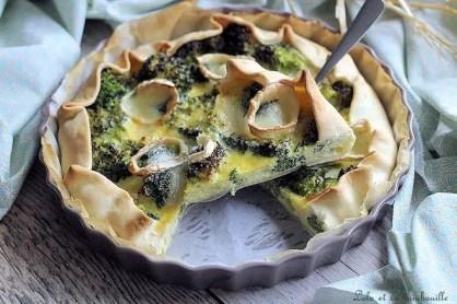 Quiche aux brocolis & chèvre (4)