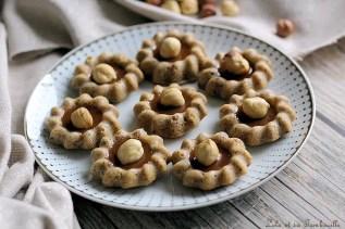 Bouchées aux noisettes & caramel (5)