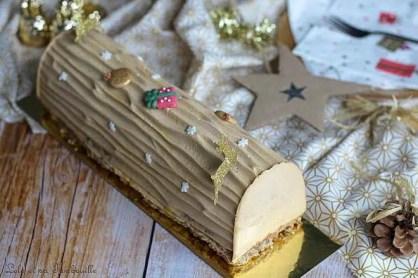 Bûche chocolat & praliné (3)