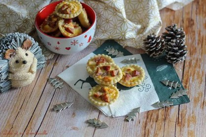 Tartelettes Montbéliard & parmesan (2)