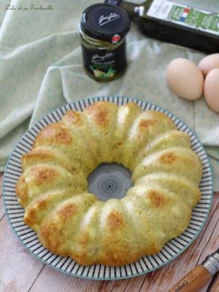 Cake aux crevettes & feta (2)