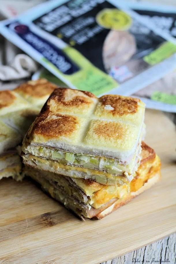 Croque Tablette jambon & cheddar