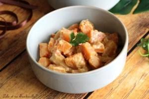 Curry de patates douces