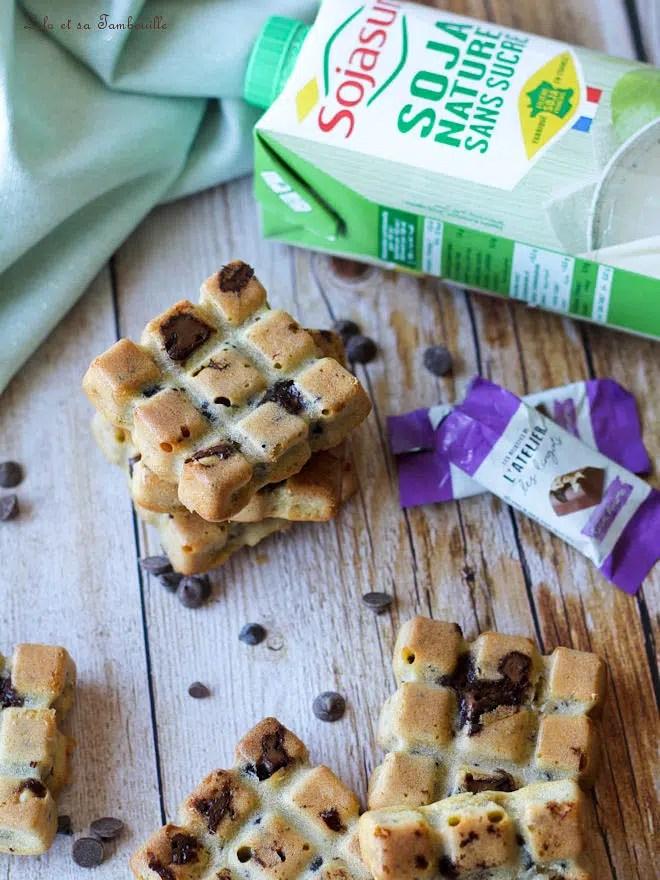 Moelleux au beurre de cacahuète & chocolat