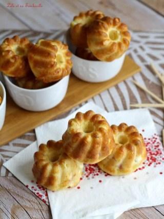 Muffins au bacon & feta (3)