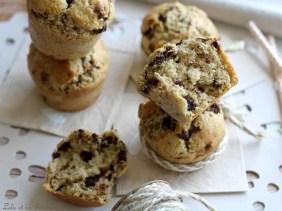 Muffins beurre de cacahuètes & pépites de chocolat (1)
