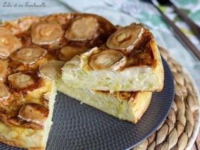 Quiche sans pâte aux poireaux & chèvre (7)