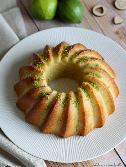 Bundt cake au citron vert (3)