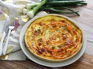 Tarte spirale aux carottes & comté (3)