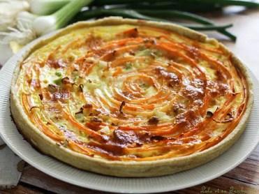 Tarte spirale aux carottes & comté (6)