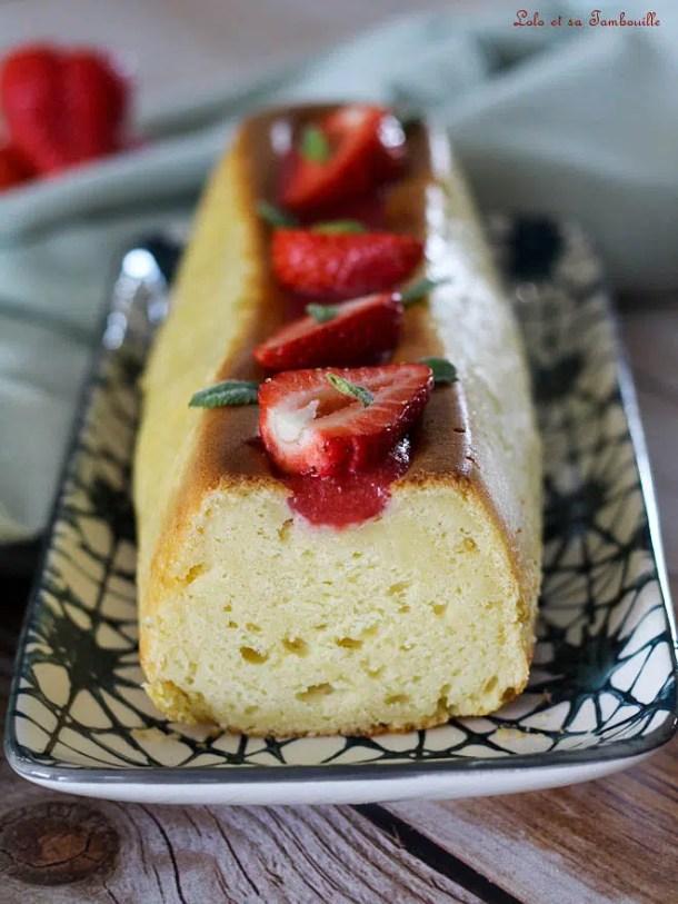 Cake au fromage frais