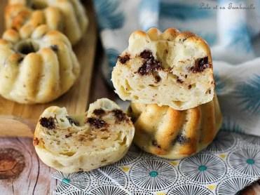 Moelleux au poires & chocolat au fromage blanc (1)
