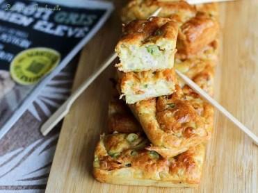 Cakes aux courgettes & rôti de porc (1)
